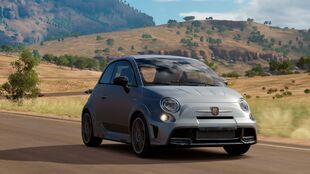 Abarth 695 Biposto in Forza Horizon 3