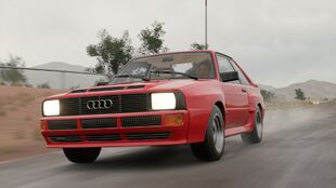 Audi Sport quattro in Forza Motorsport 5