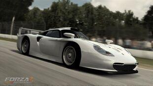 Porsche 911 GT1 Strassenversion in Forza Motorsport 2