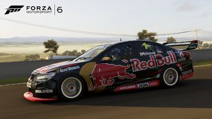 The Holden #1 Red Bull Racing Australia VF Commodore in Forza Motorsport 6