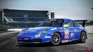 Porsche #66 AXA Racing 911 GT3 Cup in Forza Motorsport 4