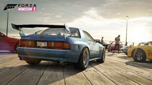 The Mazda RX-7 (FC) in Forza Horizon 3