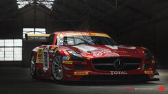2011 Mercedes-Benz Black Falcon SLS AMG GT3