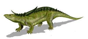 Desmatosuchus BW