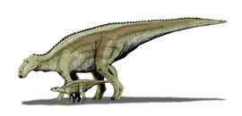 Maiasaura BW