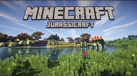 Minecraft Jurassicraft mod, animation showcase