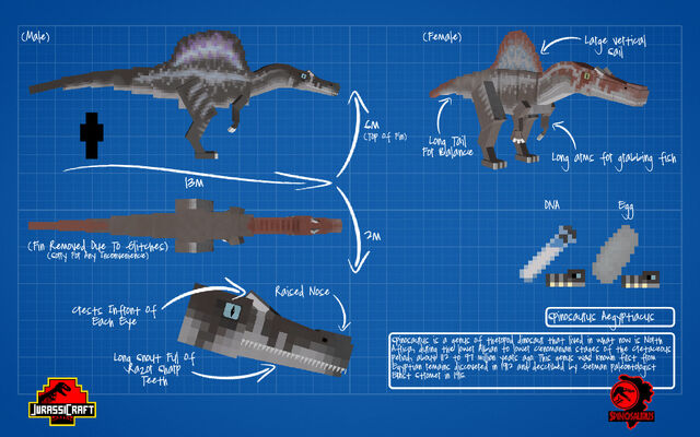 File:Jurassicraft blueprint spinosaurus by jurassicraft-d8rs20x.jpg