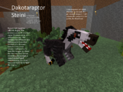 Dakotaraptor Steini W.I.P