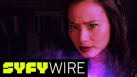 The Gifted Cast on Ties to X-Men Universe and Characters San Diego Comic-Con 2017 SYFY WIRE
