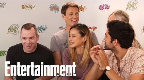 The Gifted Stephen Moyer On Potential Wife Anna Paquin's Cameo SDCC 2017 Entertainment Weekly