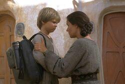 Départ de Anakin