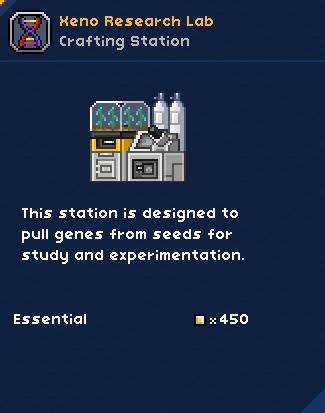 Xeno-research lab