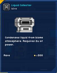 Liquid Collector FU
