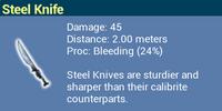 Steel Knife