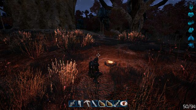 File:Fragmented - campfire at night - desert biome.jpg
