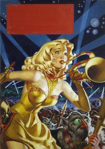 File:War Maid of Mars (1953) original painting by Allen Anderson.jpg