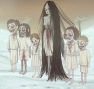 Evil mother hallucination
