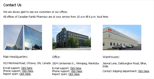Canfampharm offices