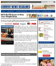 HCG Elite fake news