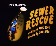 Sewer rescue