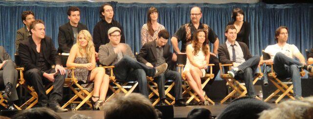 File:PaleyFest 2011 - Freaks and Geeks Reunion - the cast (full).jpg