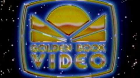 """Golden Book Video """"Outer Space"""" Closing Logo - The Best Version There Is (1985)"""