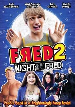 Fred 2 Night of the Living Fred DVD cover