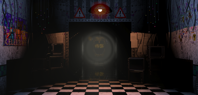 File:Golden Freddy Down The Hall.png
