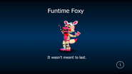 Funtime foxy load