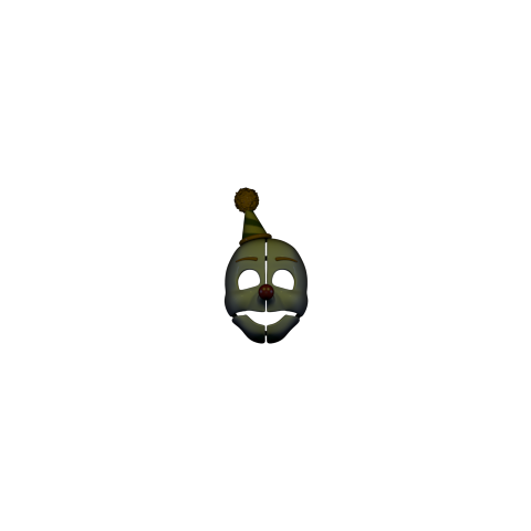 The mask Ennard wears in some instances, as seen in the Primary Control Module.