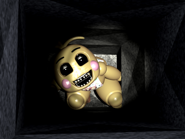 File:ToyChicaInTheAirVent.png