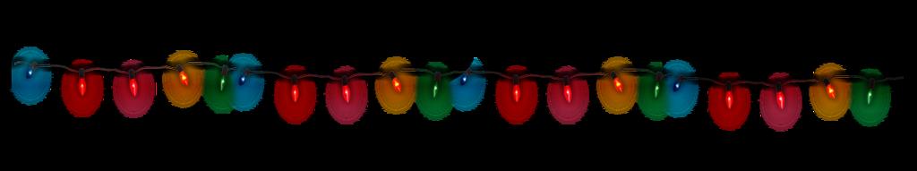 Resultado de imagen para luces de navidad png