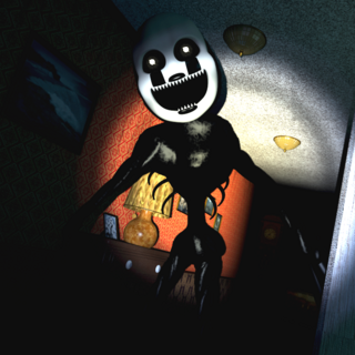 Nightmarionne in the Left Hall, brightened for clarity.