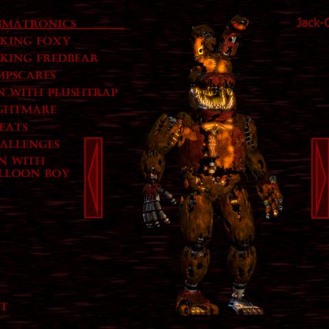 Jack-O-Bonnie in the extra menu.