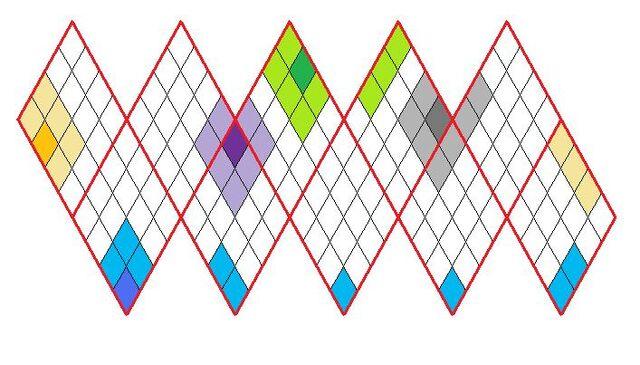 File:Icosahedron net tiled adjacent tiles.jpg