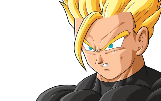 File:Adult Gohan SSJ by drozdoo.png