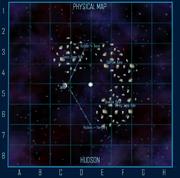 Hudson Physical map