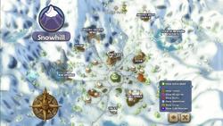 Map snowhill