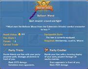 Balloon Wand shop item