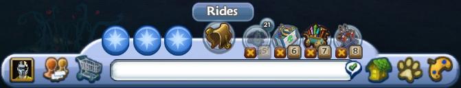 Rides button
