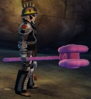 Balloon Hammer held