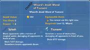 Wizard's Jewel Wand of Tsunami item