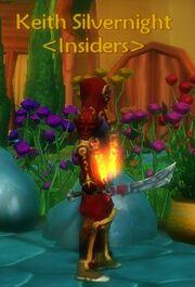 Ninja's Forged Sword of Purge held