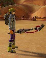Medic's Shockrod of Reflexes held