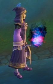 Wand of Spectral Fire held