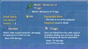 Medic's Bonesaw of Triage item