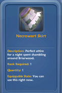Necrowart Skirt Info