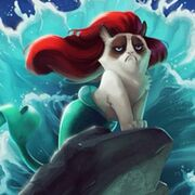 Grumpy Mermaid