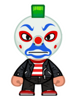 Clown tramp