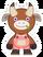 Kint doll cow